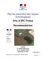 EPC-France-PPRT-recommandations